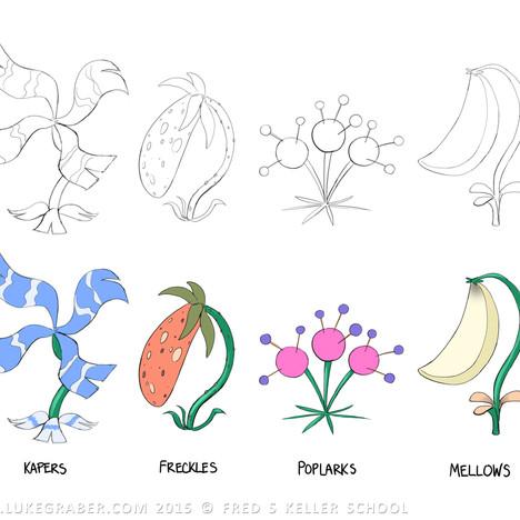 """""""Melanie's Garden"""" - 4 plants design"""
