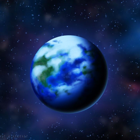 Back to the Earth - Blue Planet End