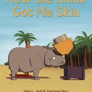 """How the Rhino Got His Skin"" Cover"
