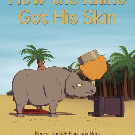 """How the Rhino Got His Skin"" Cover"