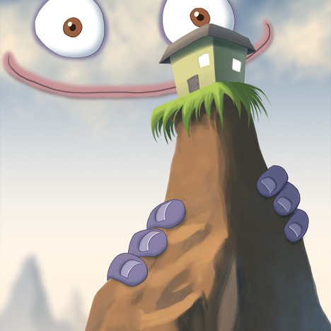 """""""Cloudface and Mountain House"""""""