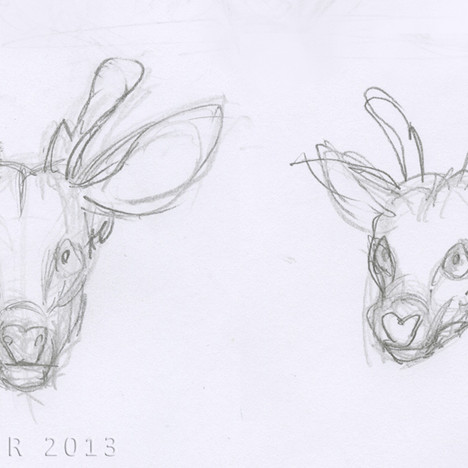 """No Escape"" - deer face concepts"