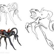 """Underwater Creature"" - design concepts"