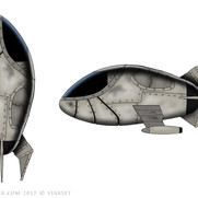 Back to the Earth - Ship Design Color