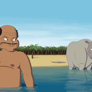 """""""How the Rhino Got His Skin"""" Sample 3"""