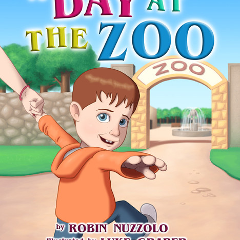 """A Day at the Zoo"" Cover"
