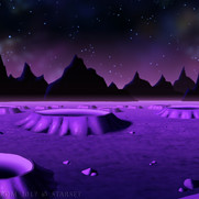 Back to the Earth - Purple Planet Surface