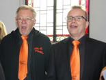 Bass Auftritt in Kirche