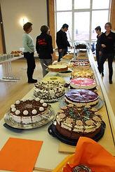 Kuchen Büfett im Kultur Cafe