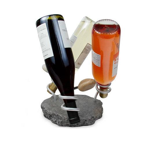 Bottoms Up wine bottle holder