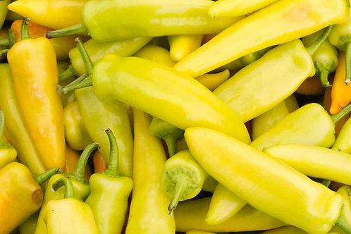Hungarian Yellow Hot Wax Pepper Seeds