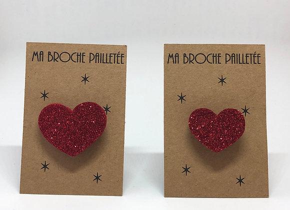 Paillettes & Superflu broche paillettes Saint Valentin