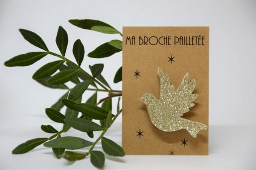 Broche colombe