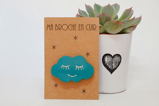Broche nuage Cancùn Paillettes & Superflu