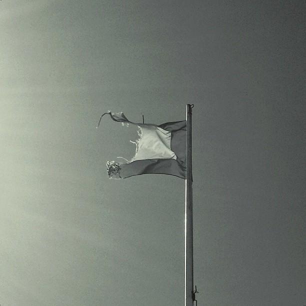 #gijon #liquerique #muelle #bandera