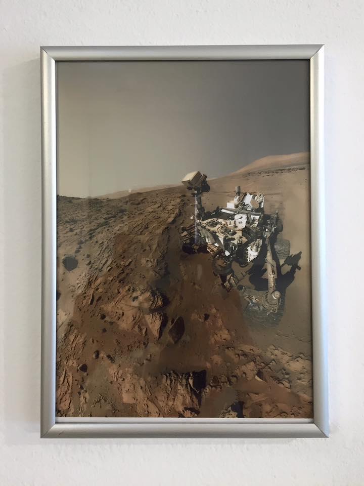 Curiosity se hace un selfie buscando vida en Marte