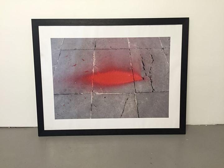 Subemocional. Mancha roja. Fotografía. Papel Lambda. 120 x 100 cm