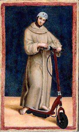 scooter Raphael_-_Saint_Francis_of_Assisi_-_Google_Art_Project p 64.jpg