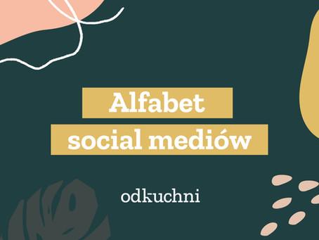 Alfabet social mediów