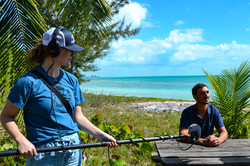 Running sound in the Bahamas