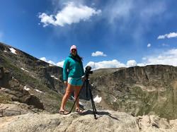 Filming on Mt. Evans