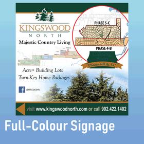 Full-Colour Signage