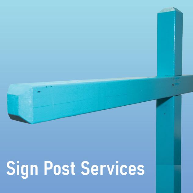 Real Estate Sign Posts