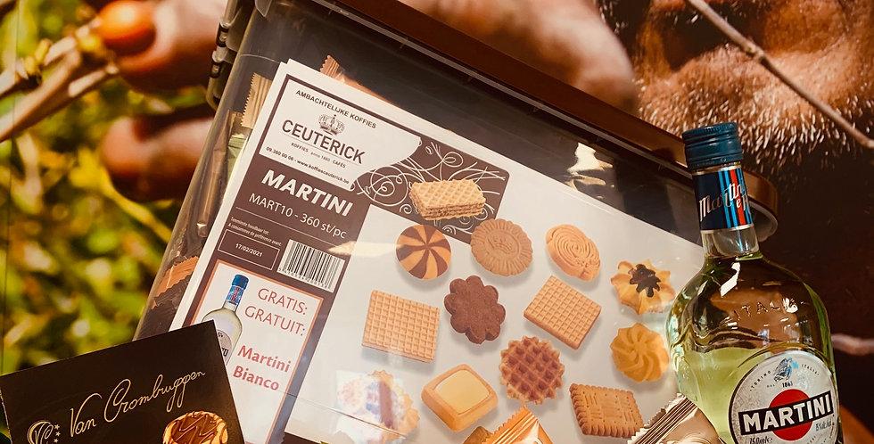 (M) Ceuterick BOX 360 STUKS + GRATIS FLES MARTINI
