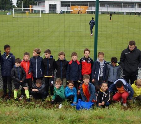 Les jeunes pousses à Kerlir (FC Lorient)