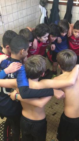 U14 : 1ère victoire !