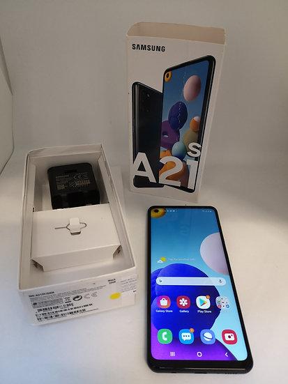 Samsung Galaxy A21s SM-A217F/DSN - UK MODEL - 32GB - Black (Unlocked) (Dual SIM)