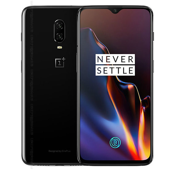 New boxed Oneplus 6T 128GB Mirror Black Android Smartphone