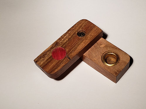 Wooden Box Style Pipe