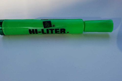 Hi-Liter Stash Pipe Green