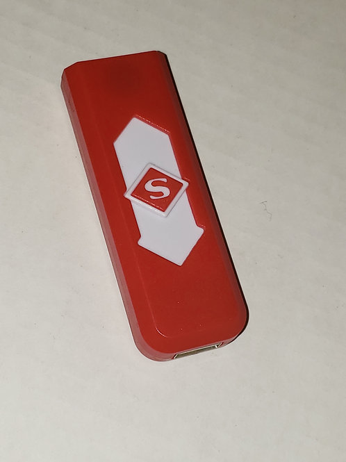 Red USB Charger Flameless