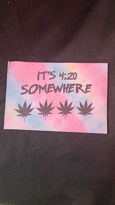 Its 420 Somewhere Magnet