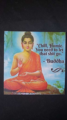 Buddha Refrigerator Magnet