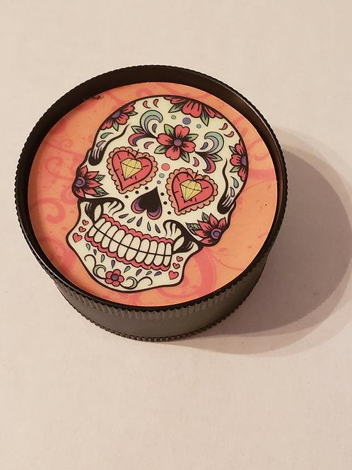 Black Candy Skull Grinder