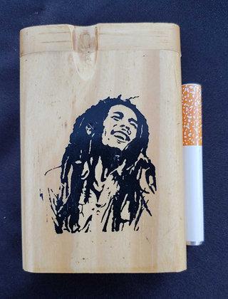 Wooden Dugout Bob Marley