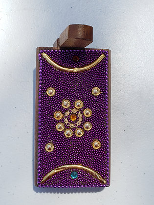 Purple Bling Dugout