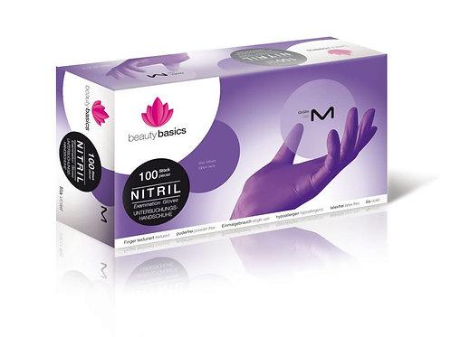 Γάντια Νιτριλίου lila M