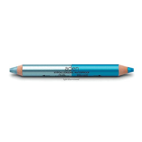 Jumbo Twin Pearl Eyeshadow Light Blue-Mineral