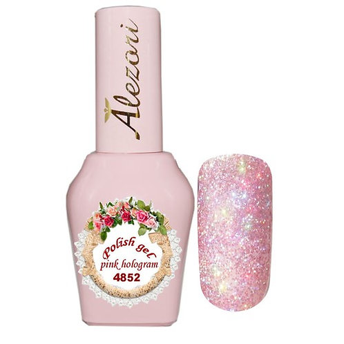 Gel polish №4852 15ml. PINK RAINBOW ΓΚΛΙΤΕΡ