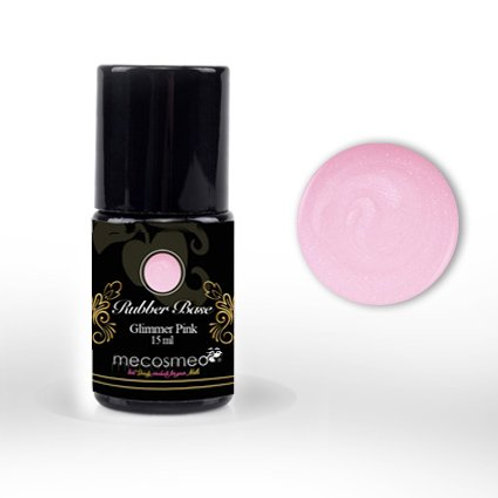Rubber Base Glimmer Pink 15ml