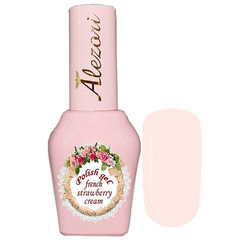 Gel polish french strawberry cream 15ml