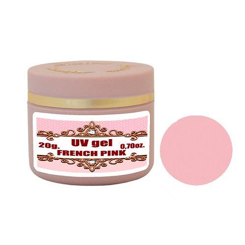 Gel French Pink 1 Phase 20g Τζελ χτισίματος