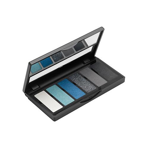 Eyeshadow Palette (6 shades) 01 Black/Blue
