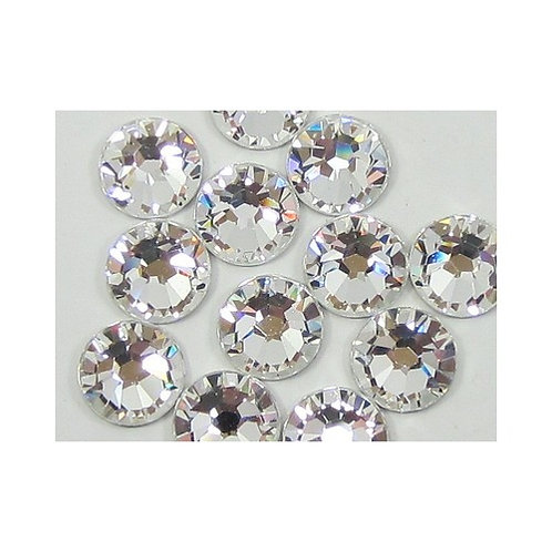 Crystal Swarovski Silver 2mm