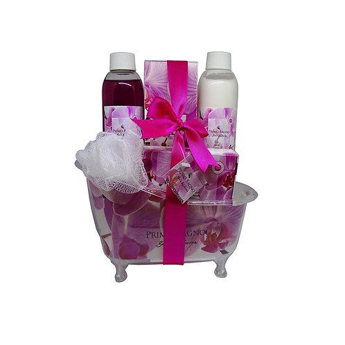 Gift Set Bath Tube Wild Orchid 5pcs