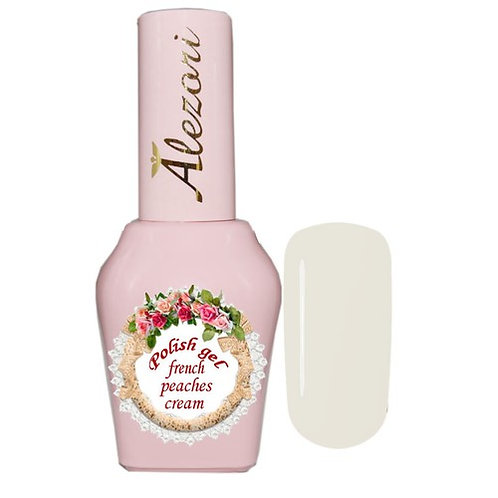 Gel polish french peaches cream 15ml